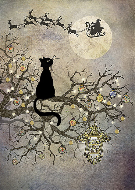 Jane Crowther - Moon Cat