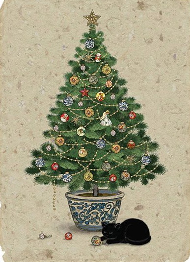 Jane Crowther - Tree Cat