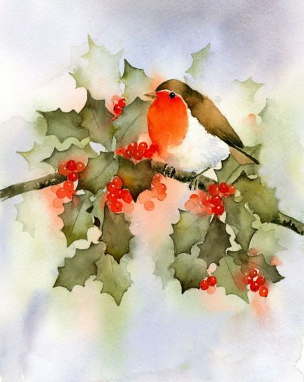Rachel Mcnaughton - Robin Fest Colour