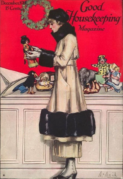 Vintage Christmas Magazine - Good Housekeeping