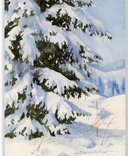 Susie Short - Winter Pine
