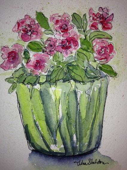 Tisha Sheldon - miniature roses