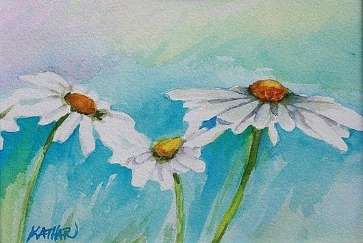 Kathleen Hartman - Daisies