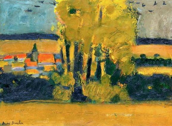 Olivier Rouault - Village De L'aisne En Automne