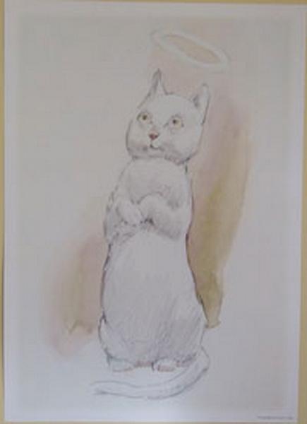 Norman Lindsay - Angel Cat
