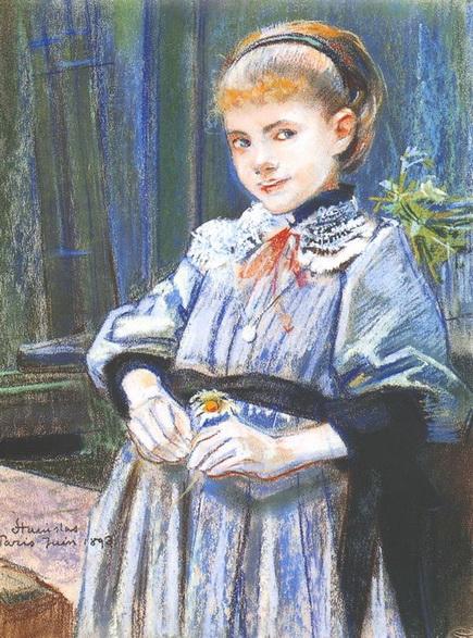 Stanislaw Wyspianski - Portrait of a Girl