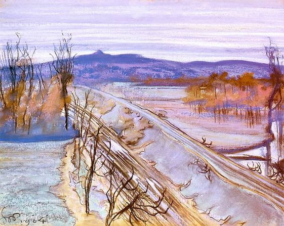 Stanislaw Wyspianski - View from the studio window