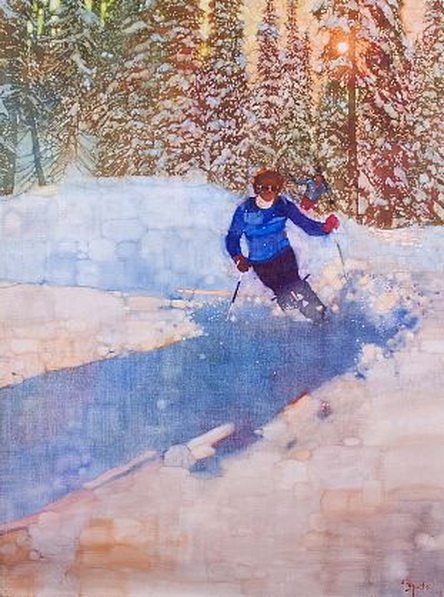 Bernie Fuchs - Powder Day