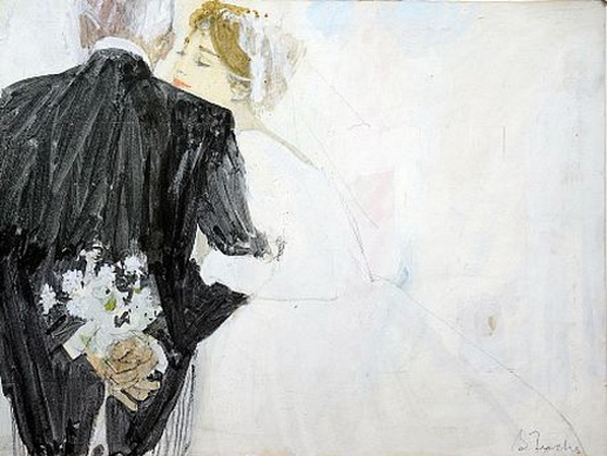 Bernie Fuchs - Bride and her Father