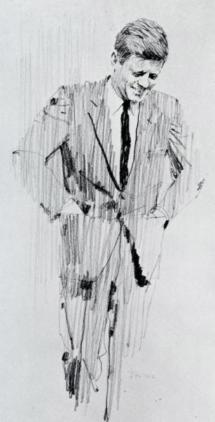 Bernie Fuchs - John F. Kennedy