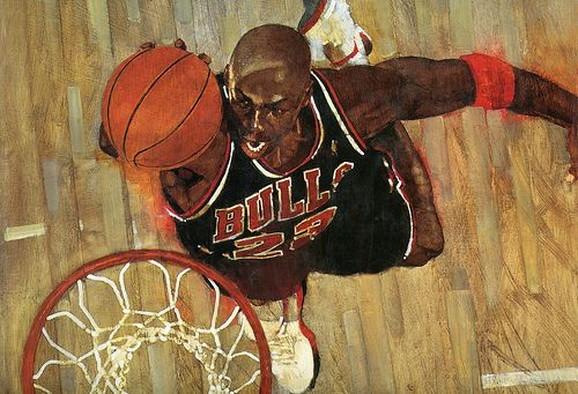 Bart Forbes - Chicago Bulls Michael Jordan