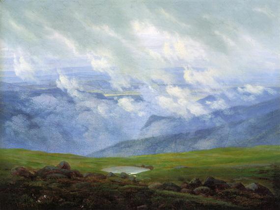 Caspar David Friedrich - Ziehende Wolken