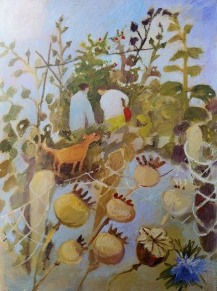 Tessa Newcombe - Picking Beans