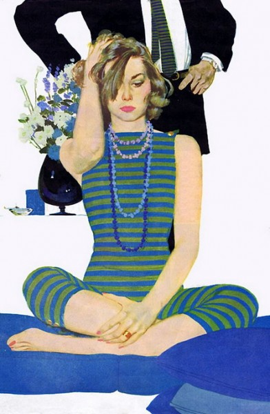 Coby Whitmore - Vintage illustration