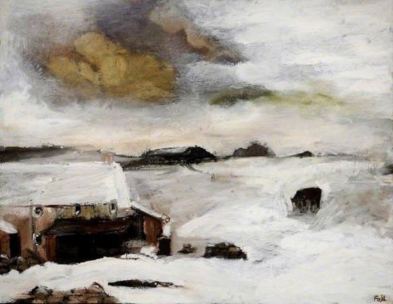 Sheila Fell - Snowscape, Cumbria