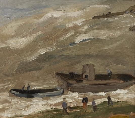 Sheila Fell - Coastal Scene