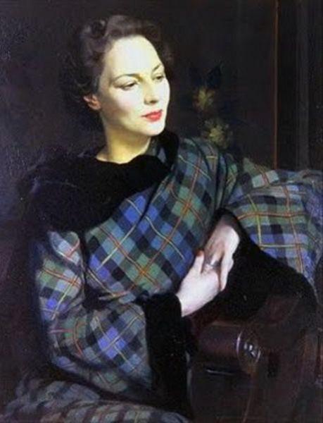 Herbert James Gunn - Pauline in the McLeod Tartan