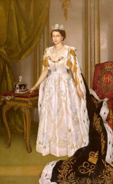 Herbert James Gunn - Queen Elizabeth II