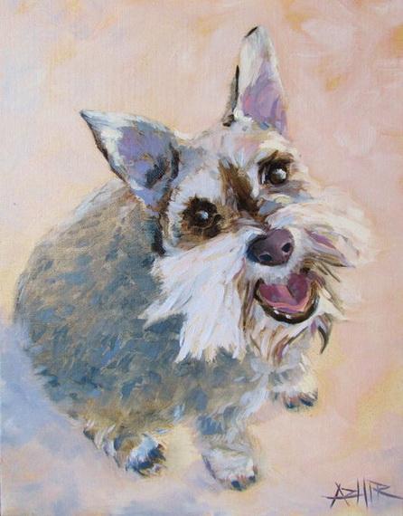 Addie Hirschten  - The Happy Dog