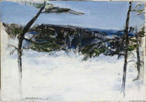 Aimo Kanerva - Winter Landscape