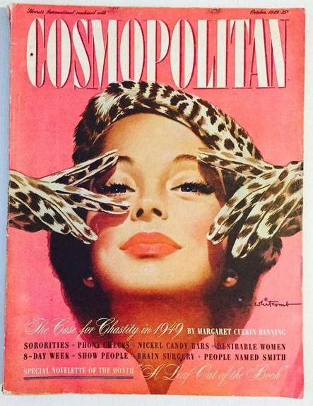 Jon Whitcomb - Cosmopolitan magazine, OCTOBER 1949