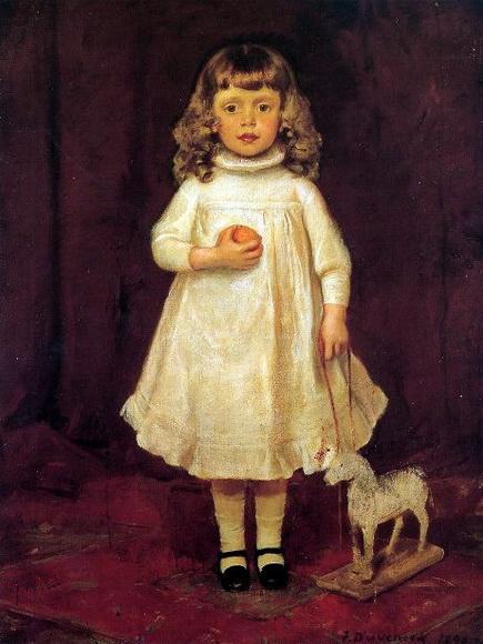 Frank Duveneck - A Child