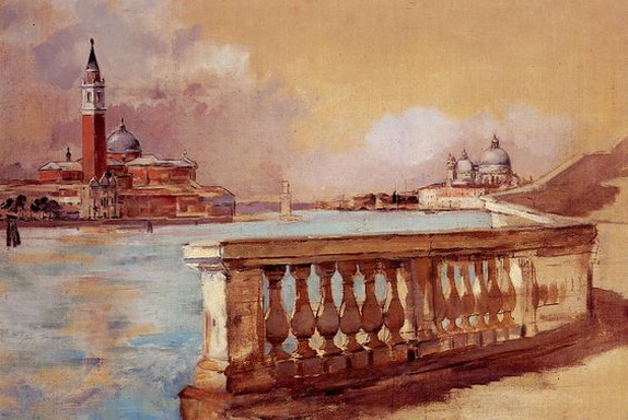 Frank Duveneck - Venice Grand Canal