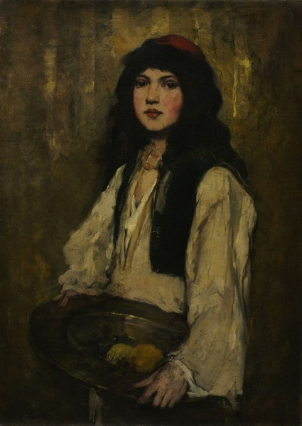 Frank Duveneck - Venetian Girl