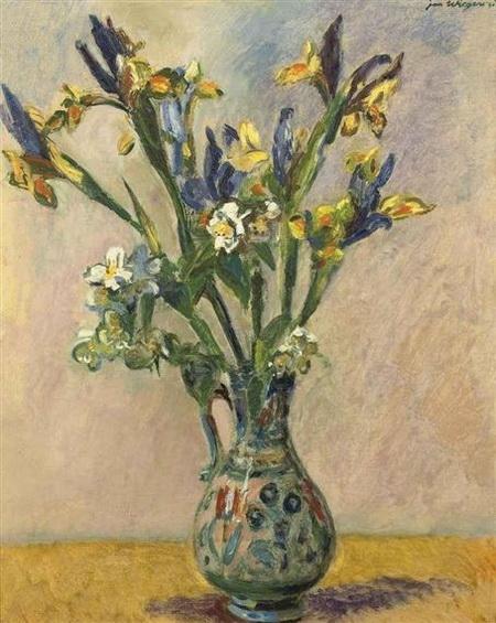Jan Wiegers - Flowers in a vase