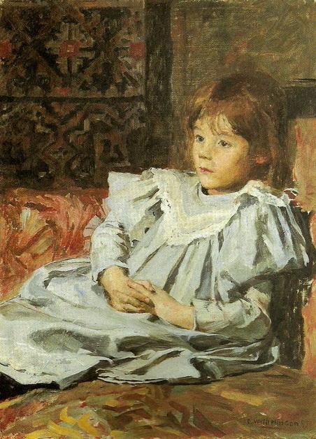 Carl Wilhelm Wilhelmson - Portrait of Marit