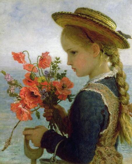 Carl Wilhelm Wilhelmson - poppy girl