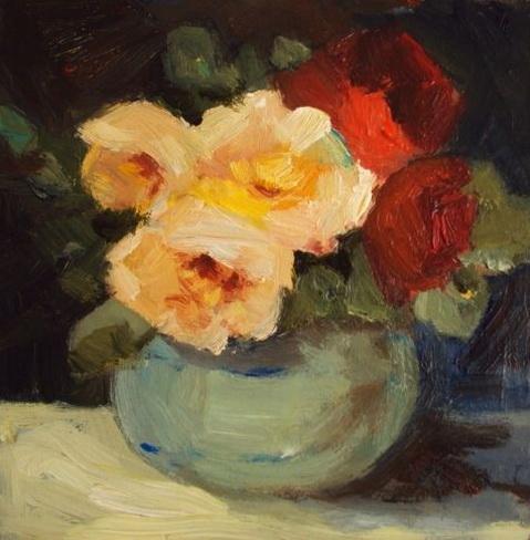 Parastoo Ganjei pot of roses