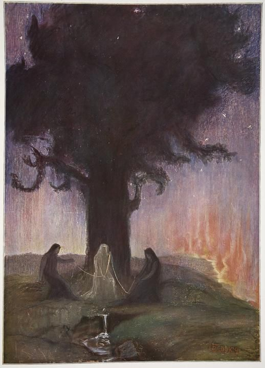 Hermann Hendrich - The Norns (1906)