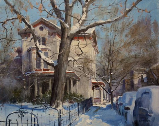 Kenn Backhaus - Winter Day on York Street