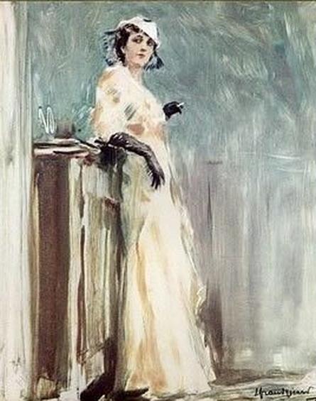 Lucien Henri Grandgerard - Elegant Parisienne. 2