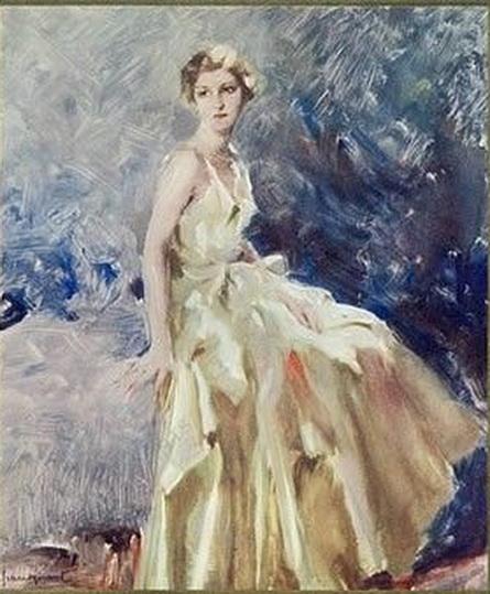 Lucien Henri Grandgerard - Elegant Parisienne.