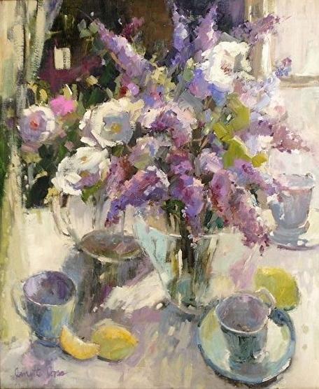 Janette Jones - lilacs and lemons