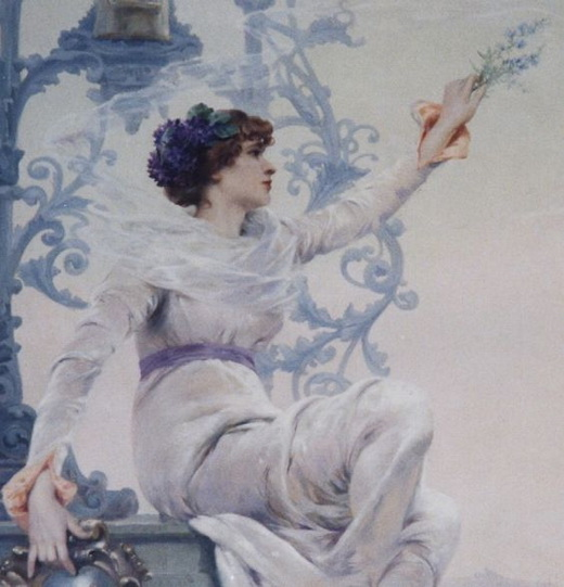 Louise Abbema La Benedictine