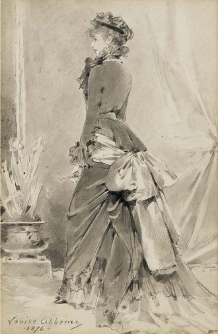 Louise Abbema Portrait of Sarah Bernhardt