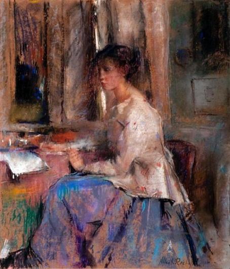 Albert Roelofs - Girl Portrait