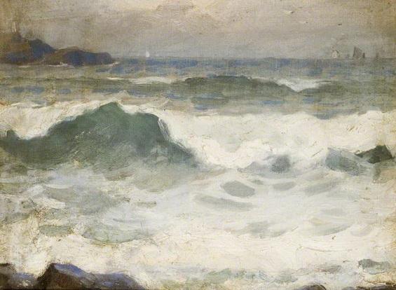Garnet Ruskin Wolseley - Seascape