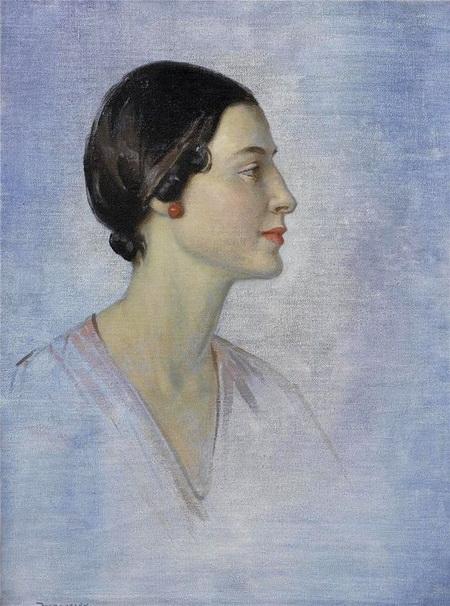 Garnet Ruskin Wolseley - Study of Anna Pavlova