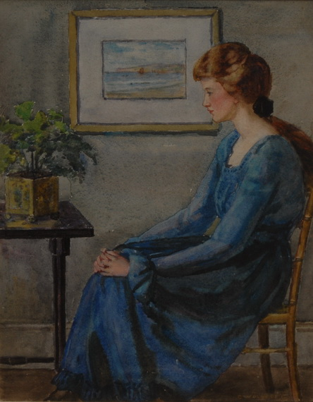 Garnet Ruskin Wolseley - The Blue Dress
