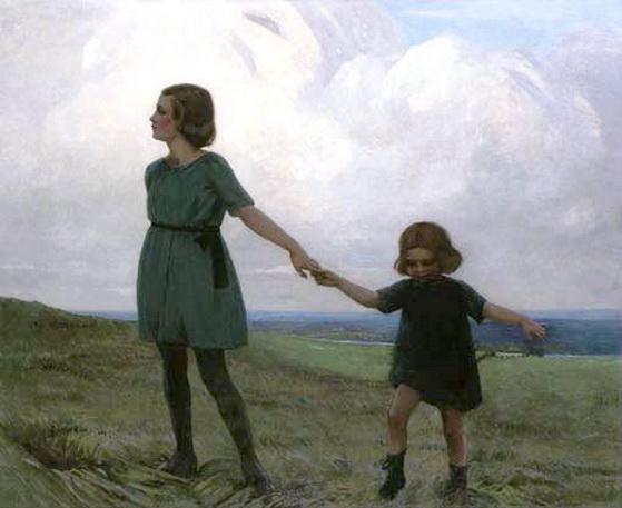 Garnet Ruskin Wolseley - Walk in the Country