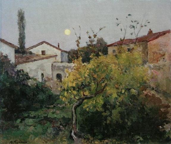 Александр Куприн - Пейзаж с луной