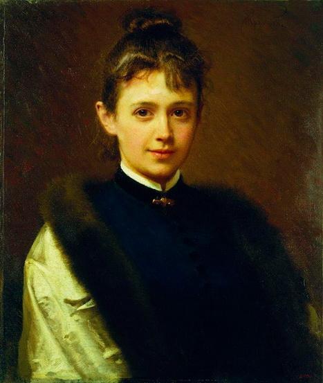 Kramskoy - Женский портрет