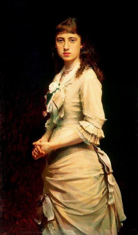 Kramskoy - Портрет Софьи Ивановны Крамской, дочери художника