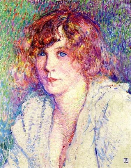 Theo van Rysselberghe - Miss Gertrude