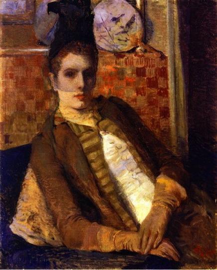 Theo van Rysselberghe - Lady in a Veil