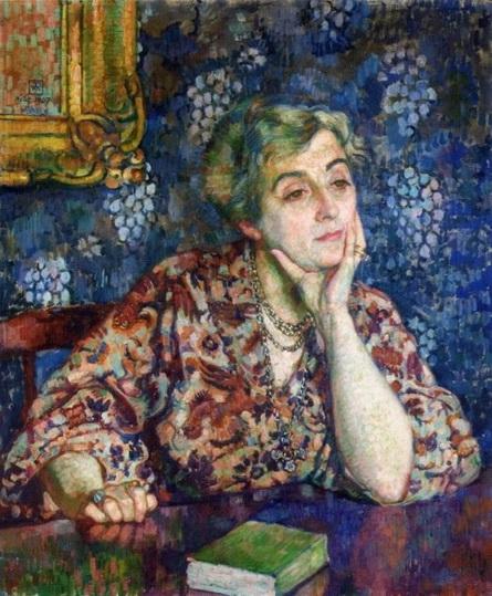 Theo van Rysselberghe - Maria van Rysselberghe